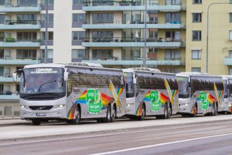 Bus transfer from Arlanda to downtown Stockholm