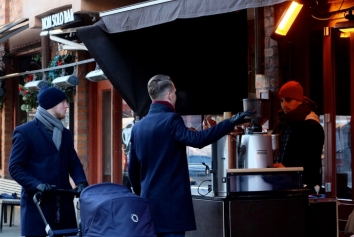Melkvist Kaffebar is a good place for brunch in Stockholm