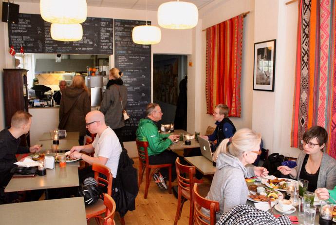 Café N in Copenhagen