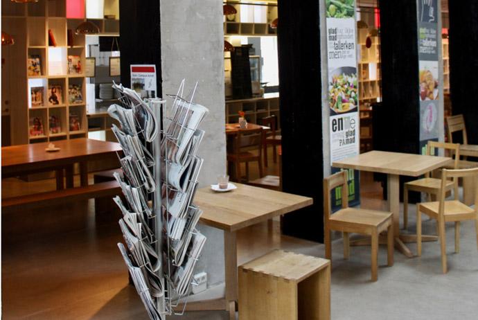 Biblioteket community kitchen in Copenhagen