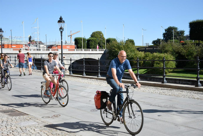 Three-hour bike tour in Stockholm