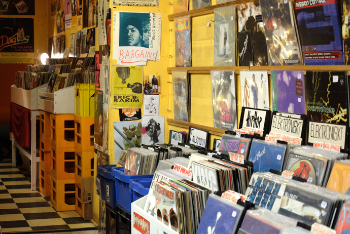 Mickes is one of the best record stores in Stockholm, Sweden