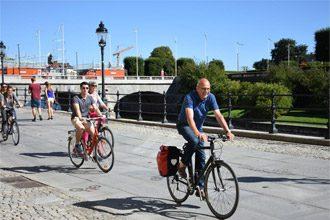 Stockholm cycling tour