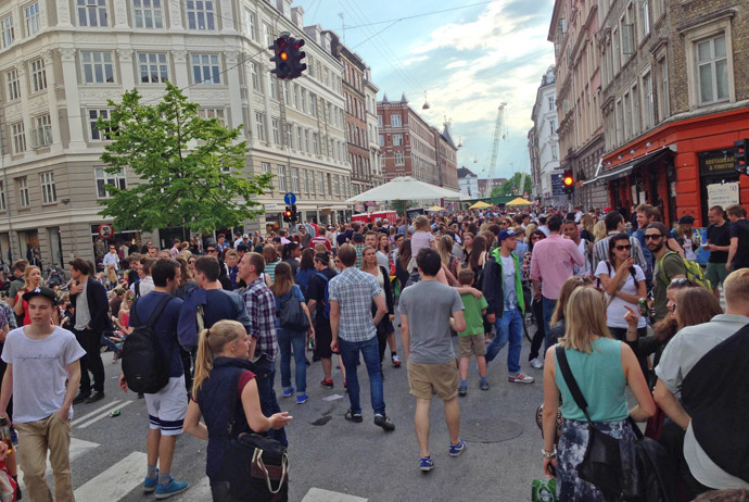 Distortion Festival in Copenhagen