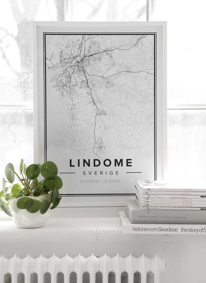 Lindome map