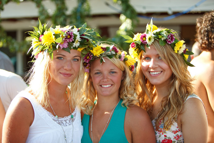 Midsummer is one of Sweden's best traditional celebrations