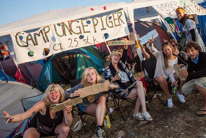 Roskilde Festival in Denmark