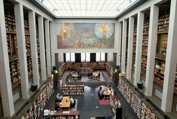 The Deichmanske library in Oslo