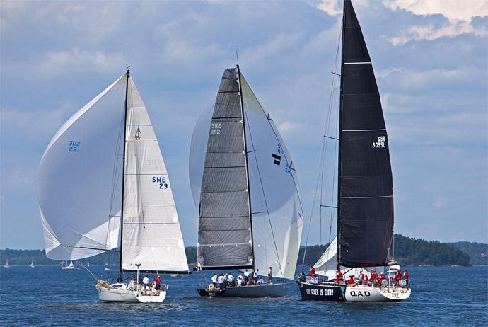 Gotland Runt boat race in Stockholm, Sweden