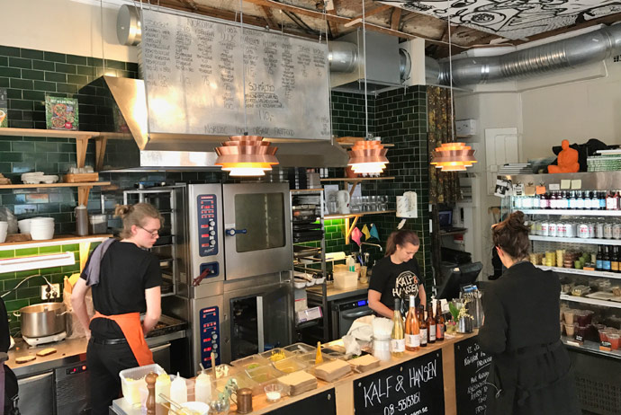 Kalf and Hansen does cheap meatballs in Stockholm