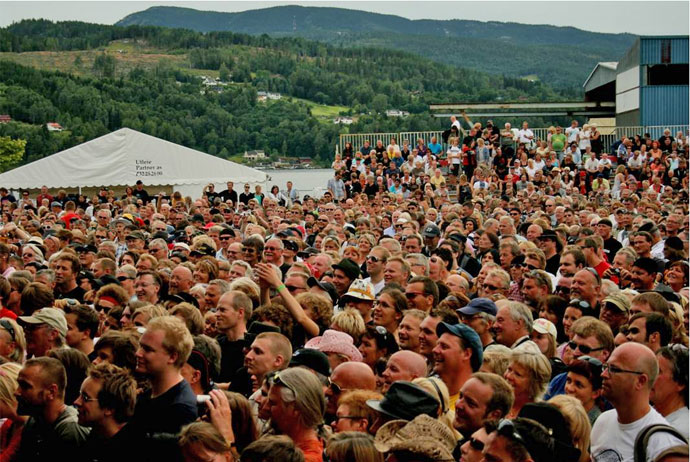 The 2017 Notodden Blues Festival in Norway