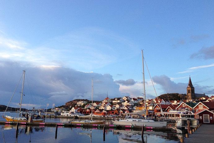 Fjällbacka is a nice village near Gothenburg