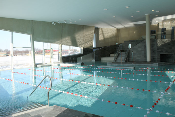 The pool at Valby Vandkulturhus