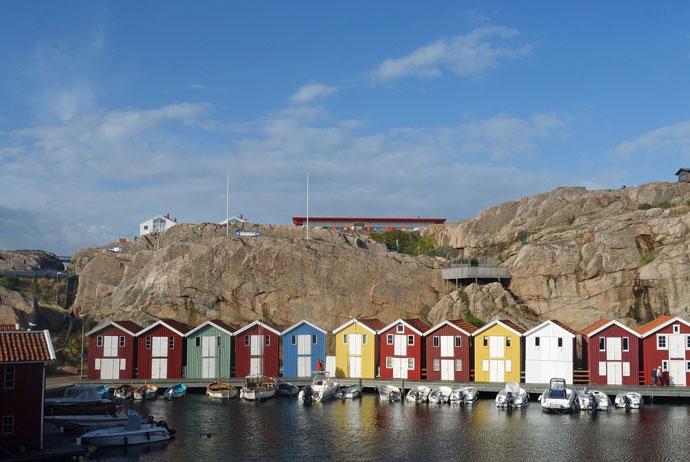 Smögen is a fishing village close to Gothenburg