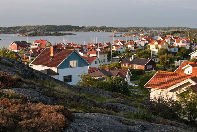 The island of Styrsö is a great day trip from Gothenburg