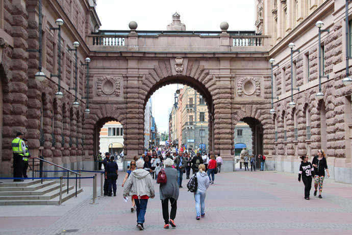 Walking tour of Stockholm