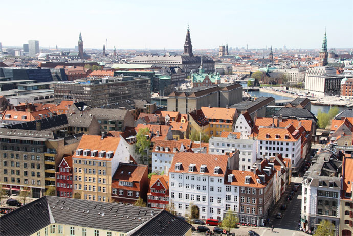 You can see a lot on a guided tour of Copenhagen