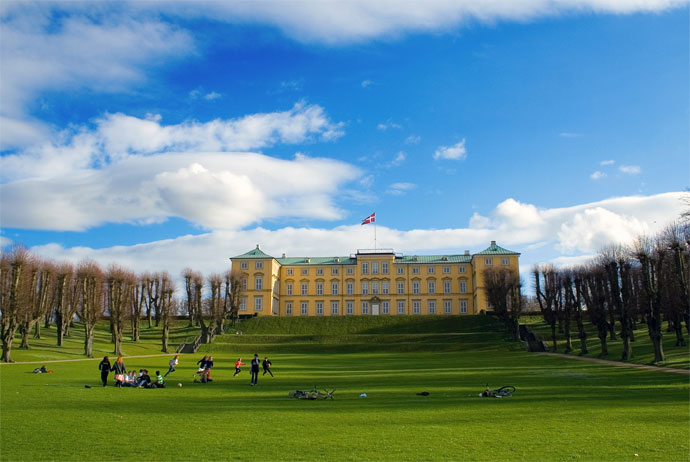 Frederiksberg Have in Copenhagen
