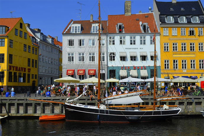 Nyhavn is a must-see if you're visiting Copenhagen for a day