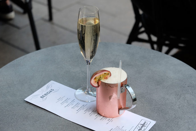 Bar Nombre in Stockholm does great cocktails