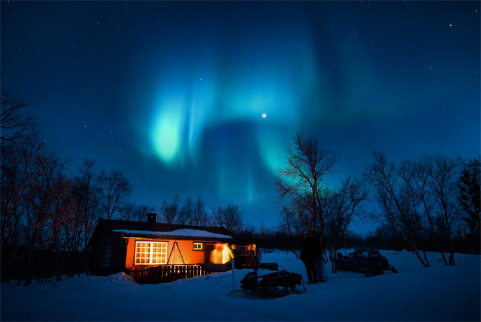 Tips for seeing the aurora borealis in northern Norway