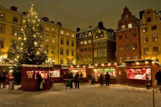 Christmas tour of Stockholm