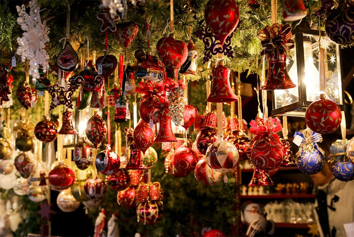 Christmas market in Odense, Denmark