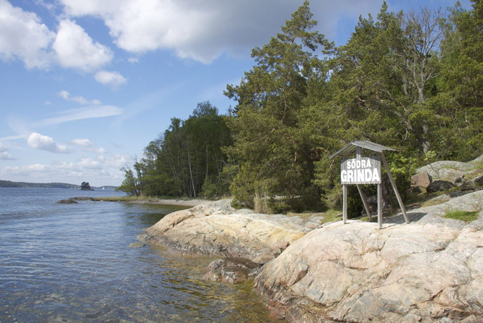 Grinda is an easy island to visit from Stockholm