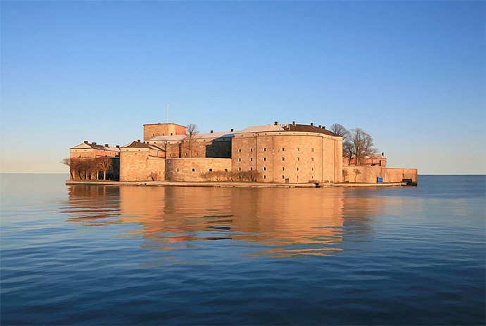 Vaxholm is the closest island to Stockholm