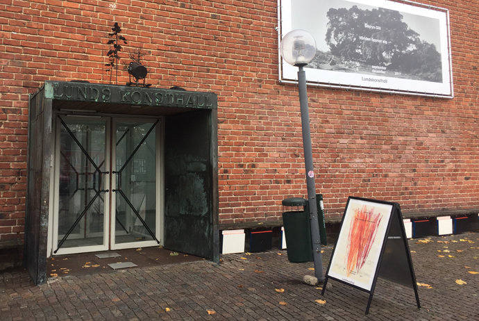 The main art gallery in Lund