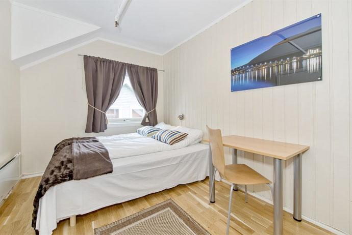 Enter Backpack Hotel in Tromso