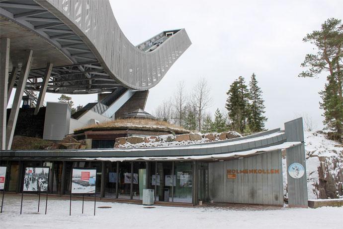 Holmenkollen ski jump in Oslo