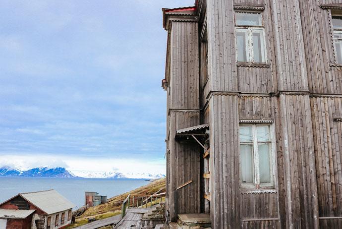 Barentsburg in Svalbard