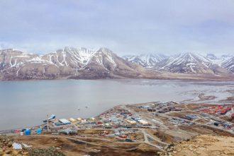 Longyearbyen from above