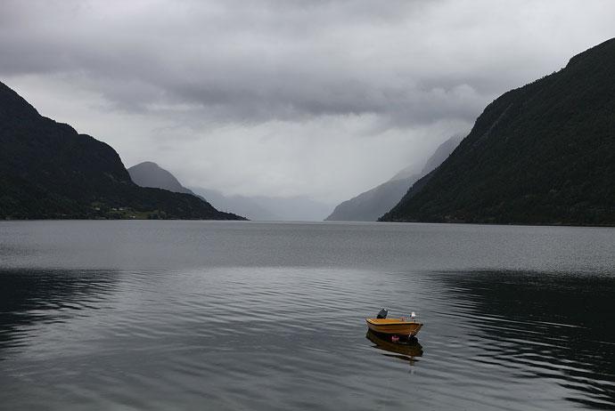 Nordfjord is a pretty Norwegian fjord