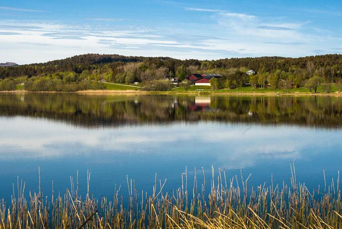 Trondheimsfjord in Norway