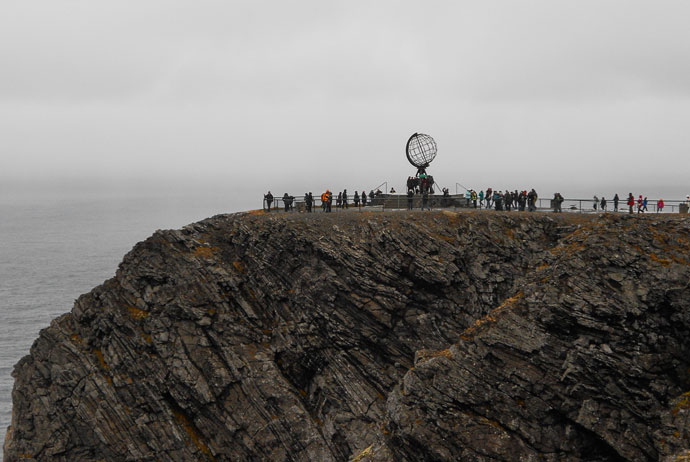 North Cape is a great place to visit in the islands of north Norway