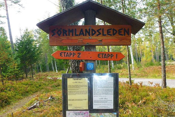 Sormlandsleden offers 1000km of hiking trails near Stockholm