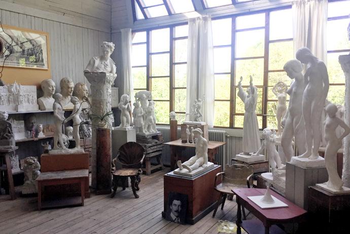 The Carl Eldh Studio museum in Stockholm