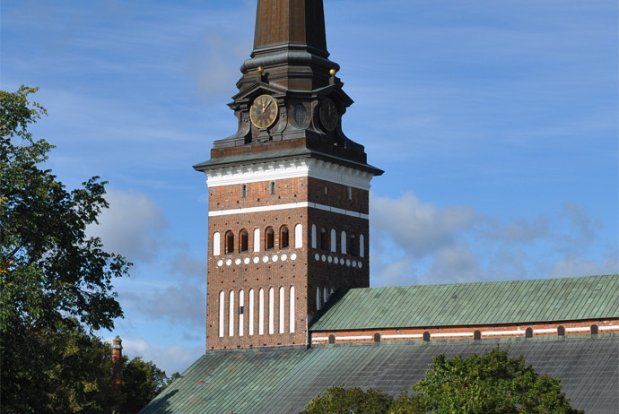The cathedral in Vasteras, Sweden