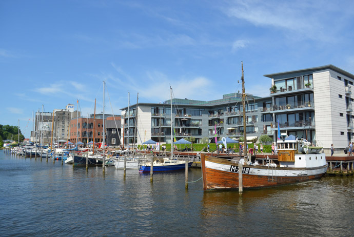 The harbour in Odense