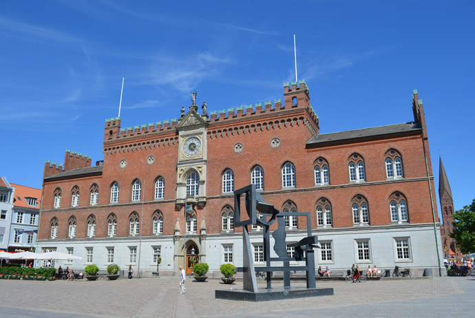 The town hall in Odense