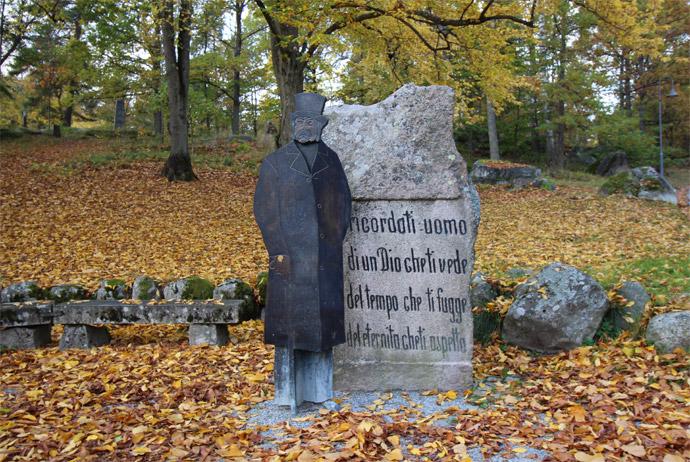 Djäkneberget is a pretty park in Västerås