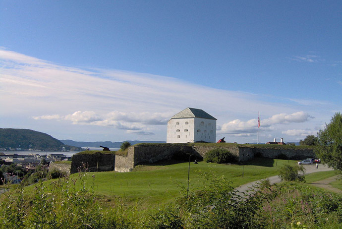 Kristiansten fortress in Trondheim, Norway