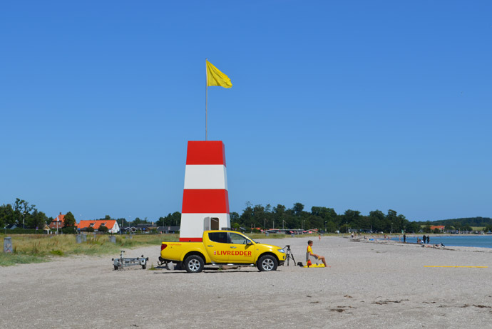 Kerteminde has one of the best beaches in Denmark