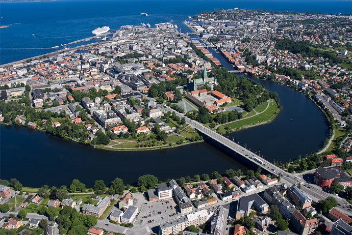 Trondheim is a great Norwegian city to visit on a budget