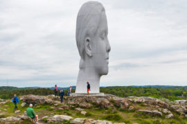 Pilane sculpture park is a great place to visit from Gothenburg