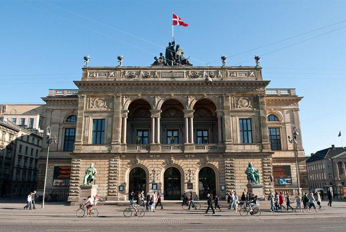 The Royal Danish Theater in Copenhagen