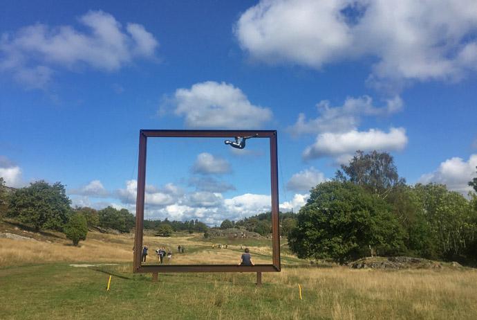 Sculpture park outside Gothenburg