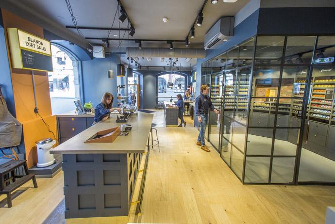 Swedish match shop in Stockholm